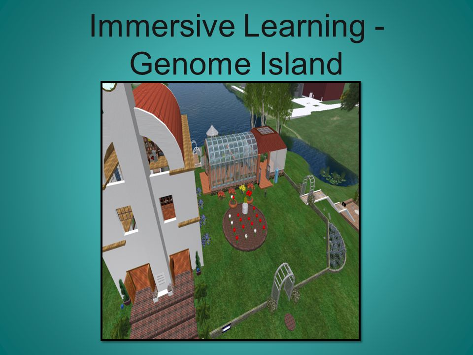 Immersive Learning - Genome Island