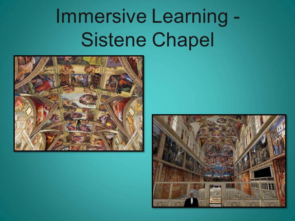 Immersive Learning - Sistene Chapel