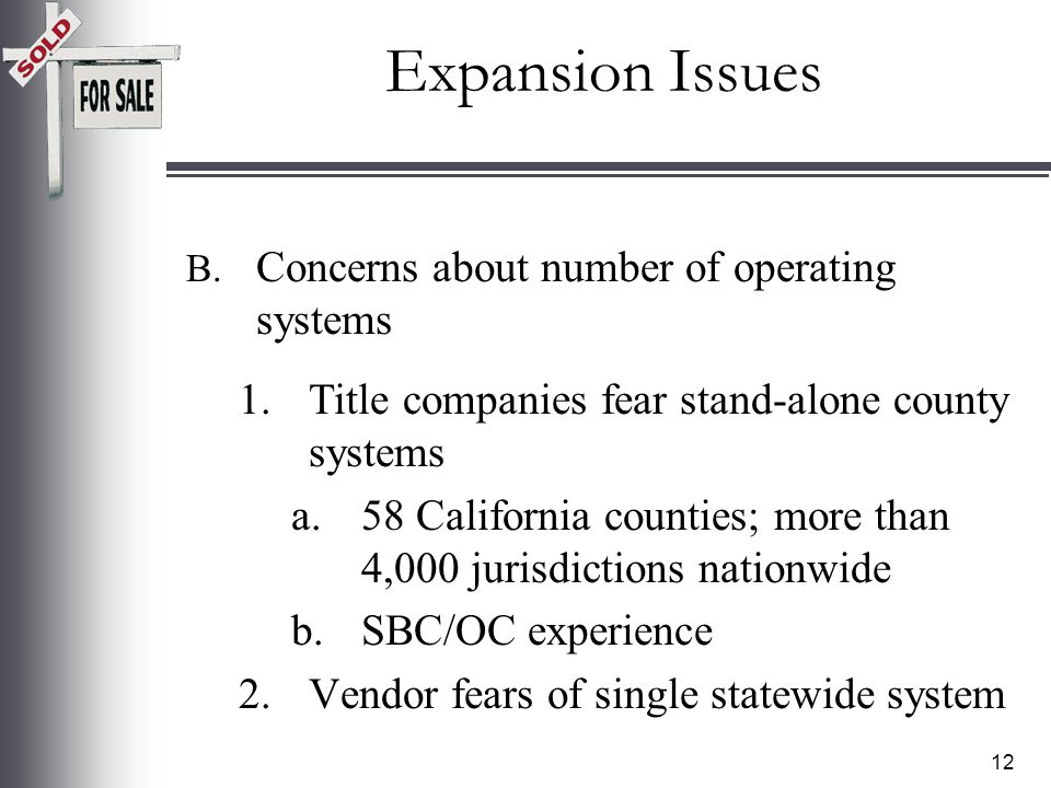 11 A. Concern of some that ER fraud would increase.