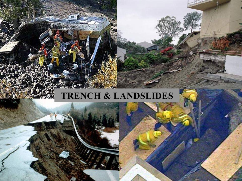 TRENCH & LANDSLIDES