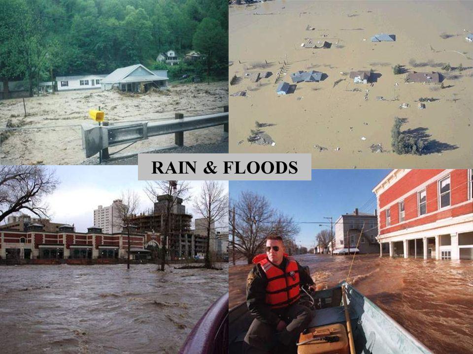 RAIN & FLOODS