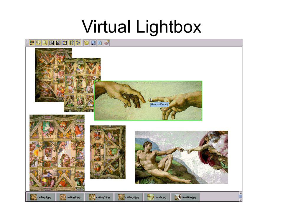 Virtual Lightbox