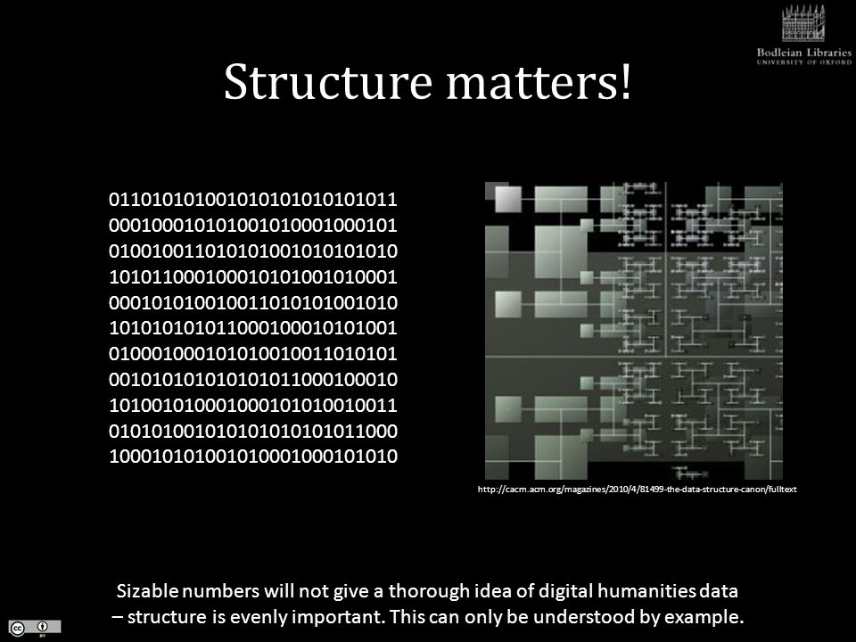 Structure matters.