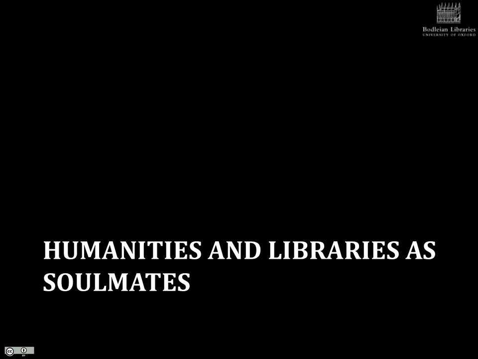 RESEARCH DATA OPPORTUNITIES IN THE HUMANITIES