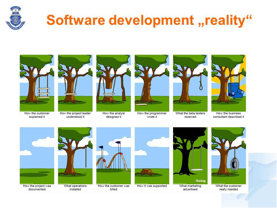 "Software development ""reality"""