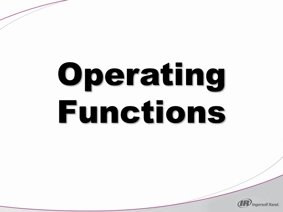 Operating Functions When the module is in protection, the compressor will stop.