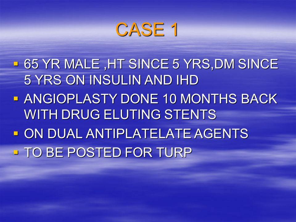 CASE 2  70 YR MALE,HYPERTENSIVE, DIABETIC & SEVERE OSTEOARTHRITIS.
