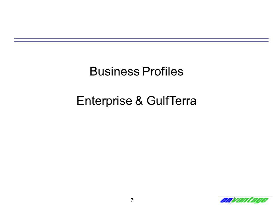 7 Business Profiles Enterprise & GulfTerra