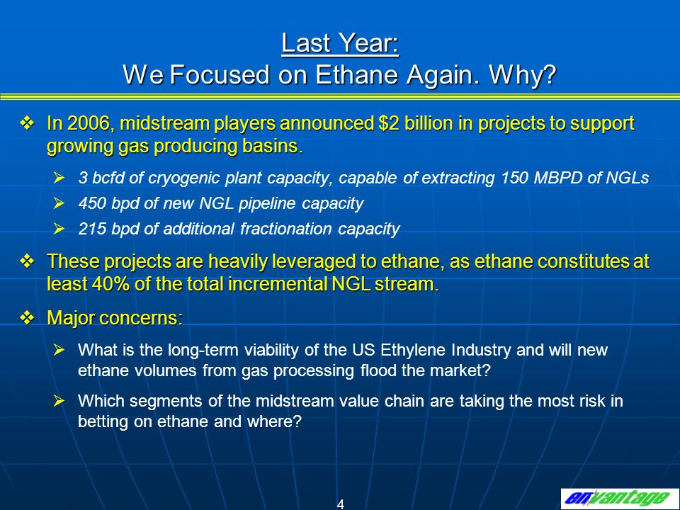 15 Ethane Demand Higher in 2007 (680 MBPD), but Only Slightly Above 8 Year Average (660MBPD).