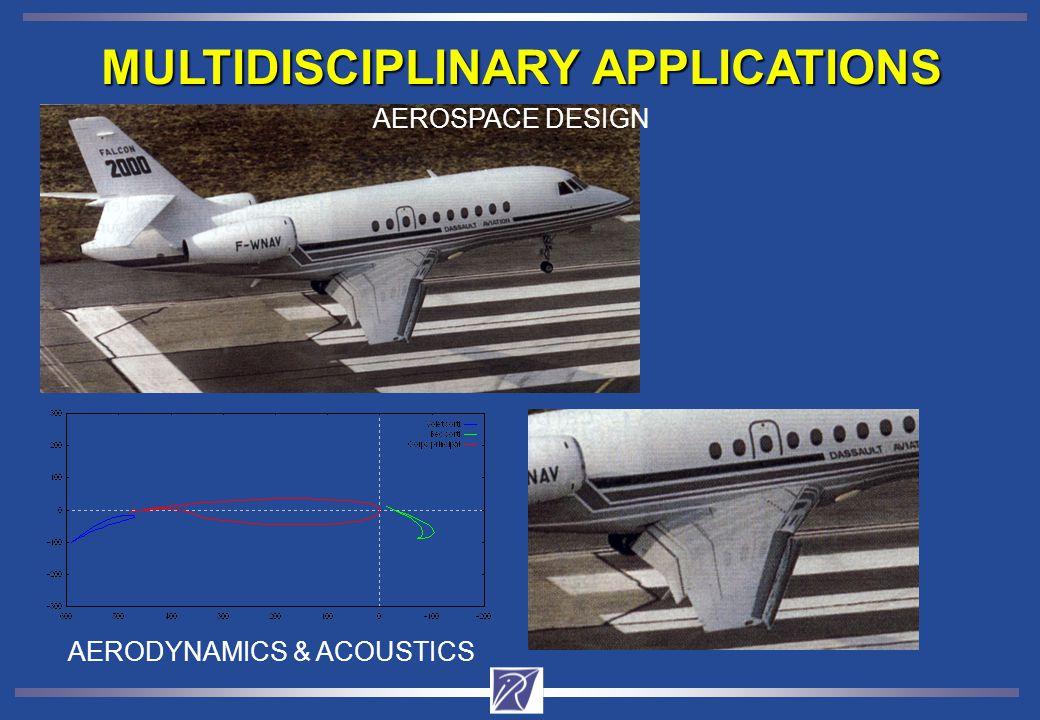 MULTIDISCIPLINARY APPLICATIONS AEROSPACE DESIGN AERODYNAMICS & ACOUSTICS