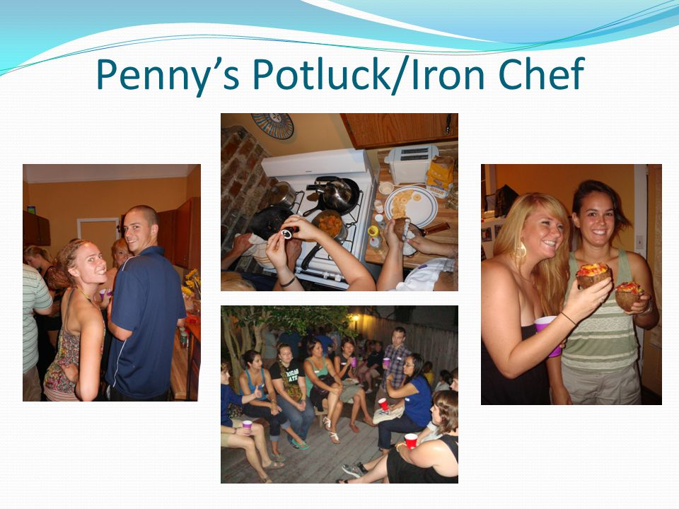 Penny's Potluck/Iron Chef