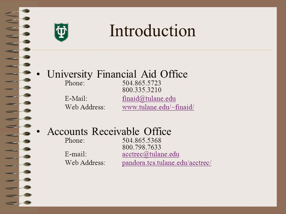 Accounts Receivable Operations Student billing department Produces bills monthly on last business day of the month Bills include tuition, fees, room, board, insurance, miscellaneous purchases, fines, etc.