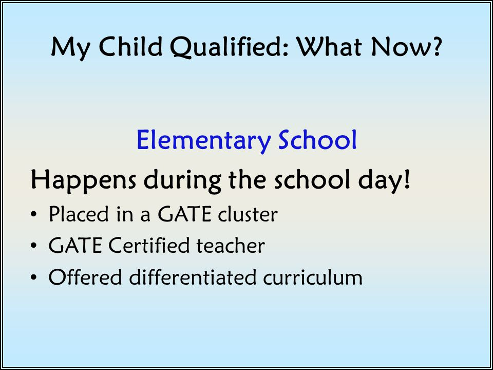 Differentiation Providing learning opportunities that are compatible with each student's needs.