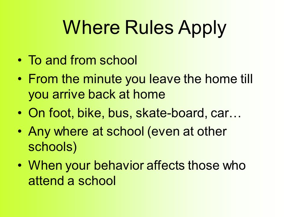 A few examples: A parent may ground you for breaking a rule. A speeding ticket can cost around $400 and you can lose your driver's license. You get fi