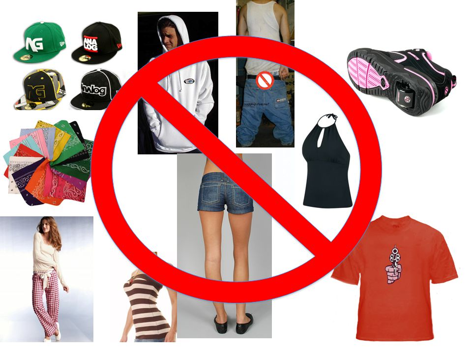 DRESS CODE Clothing that exposes undergarments, see through or is too low cut is not allowed.