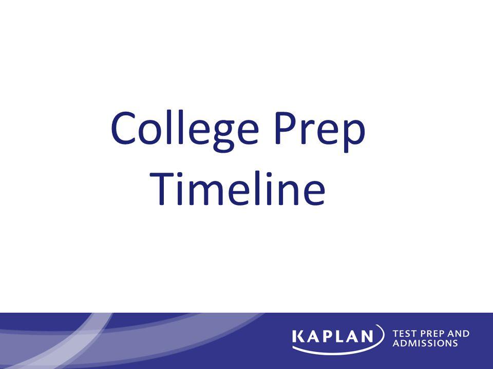 College Prep Timeline