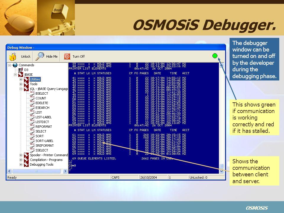 OSMOSiS OSMOSiS Debugger.