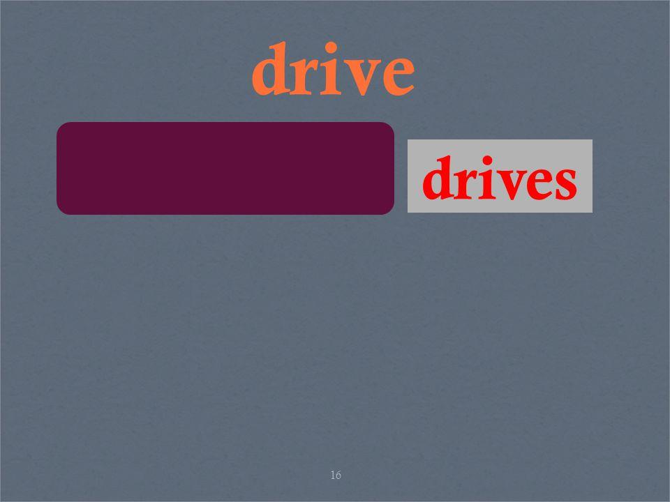 16 drive drives