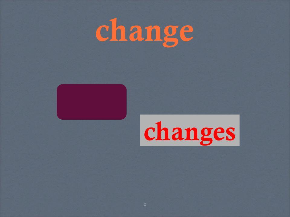 9 change changes