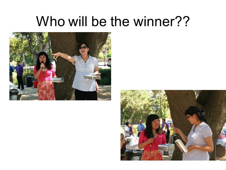 Who will be the winner??