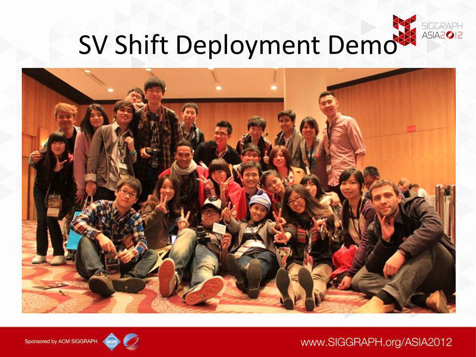 SV Shift Deployment Demo