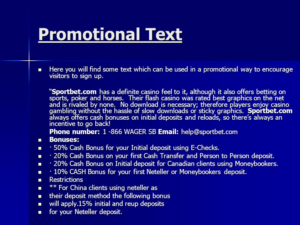 Promotional Text Here you will find some text which can be used in a promotional way to encourage visitors to sign up. Here you will find some text wh