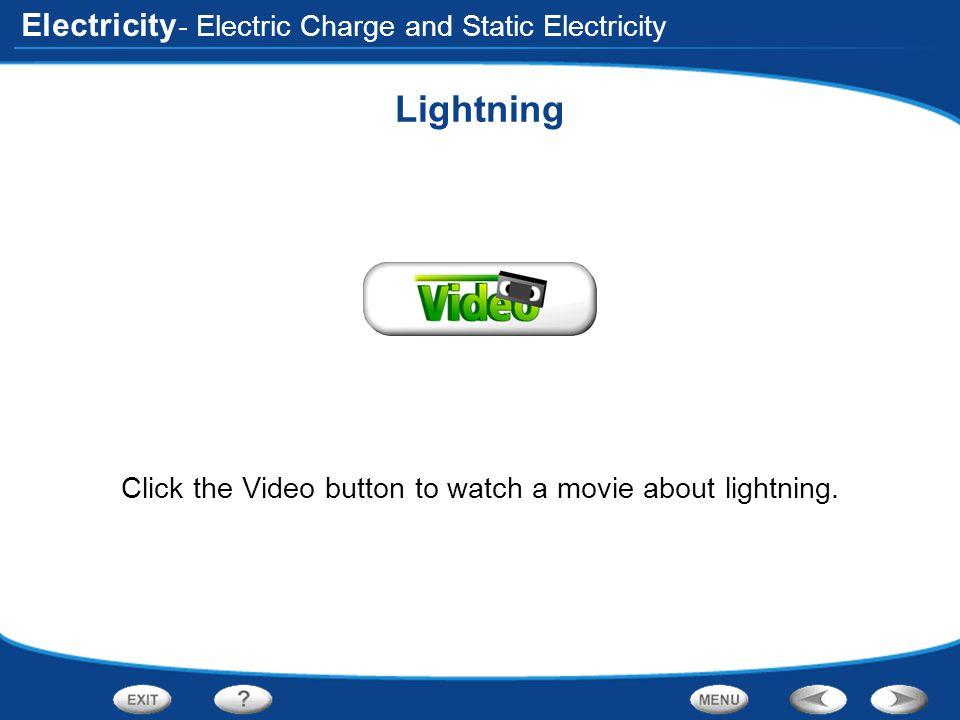 Electricity End of Section: Electric Charge and Static Electricity