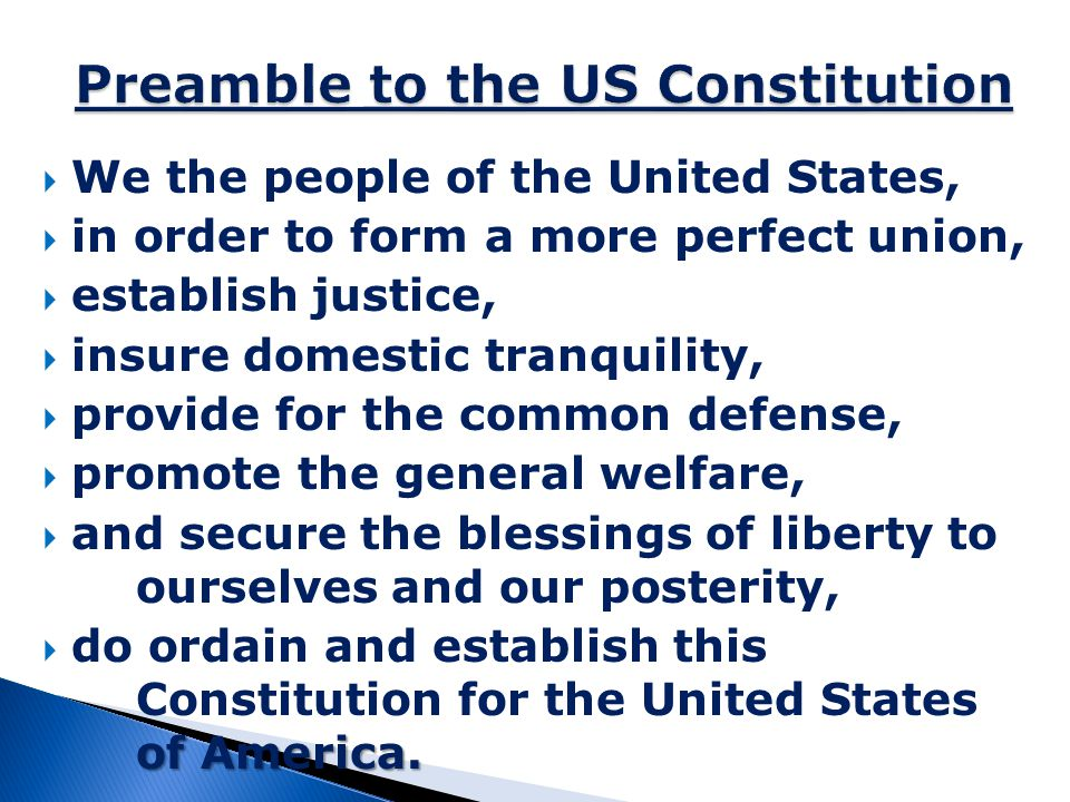  Articles I-III-Branches of government  Article IV-Relations among the states  Article V-Amending the Constitution  Article VI-National Supremacy  Article VII-Ratification