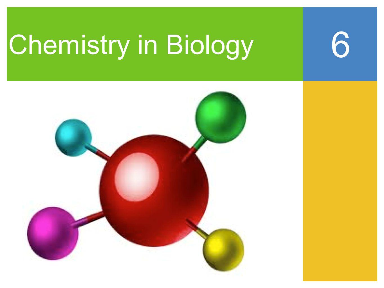 Chemistry in Biology 6