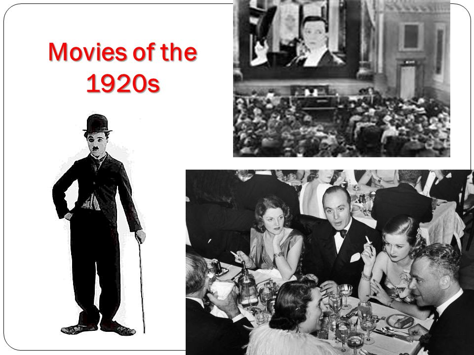 Movies of the 1920s