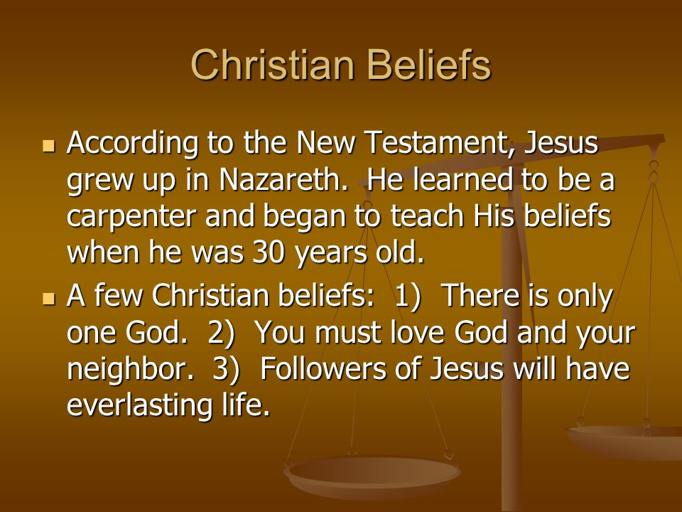Fears about Christianity Jesus' teachings alarmed many people.