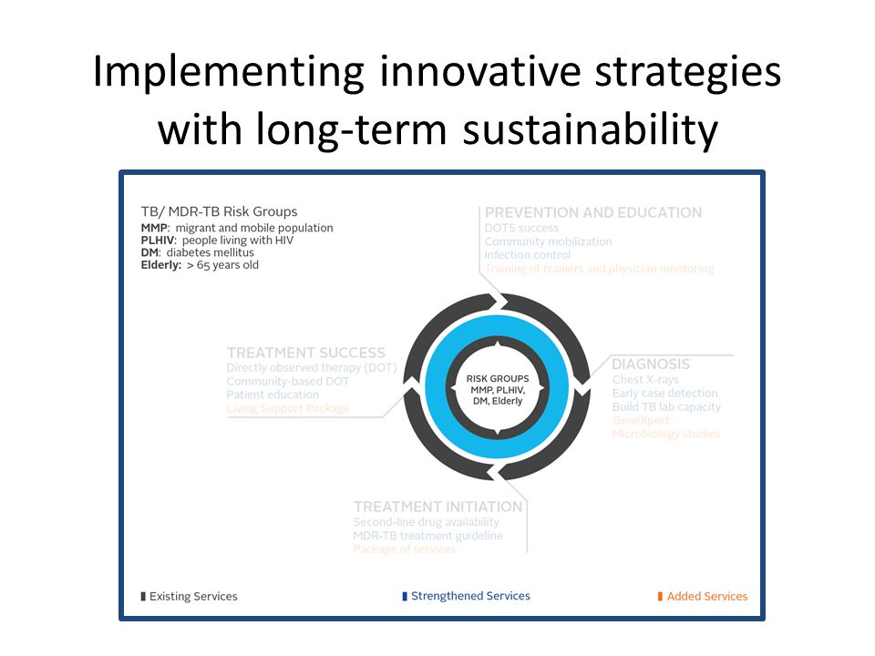 Implementing innovative strategies with long-term sustainability