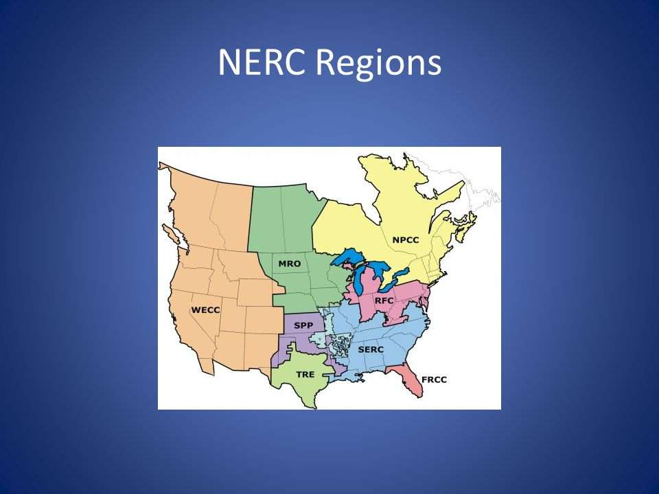 NERC Regions