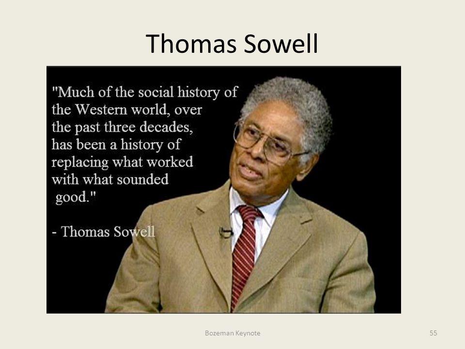 Thomas Sowell Bozeman Keynote55