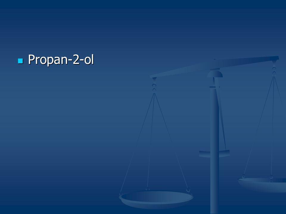 Propan-2-ol Propan-2-ol