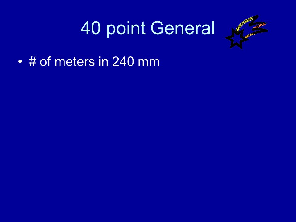 30 point General Answer What is a gram