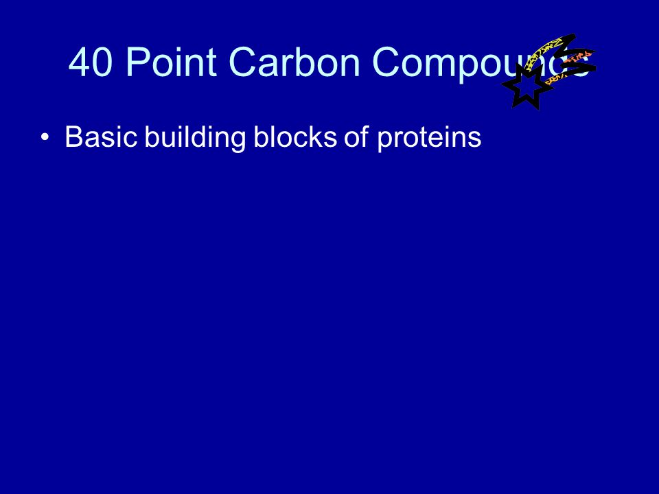 30 Point Carbon Compounds Answer What are lipids