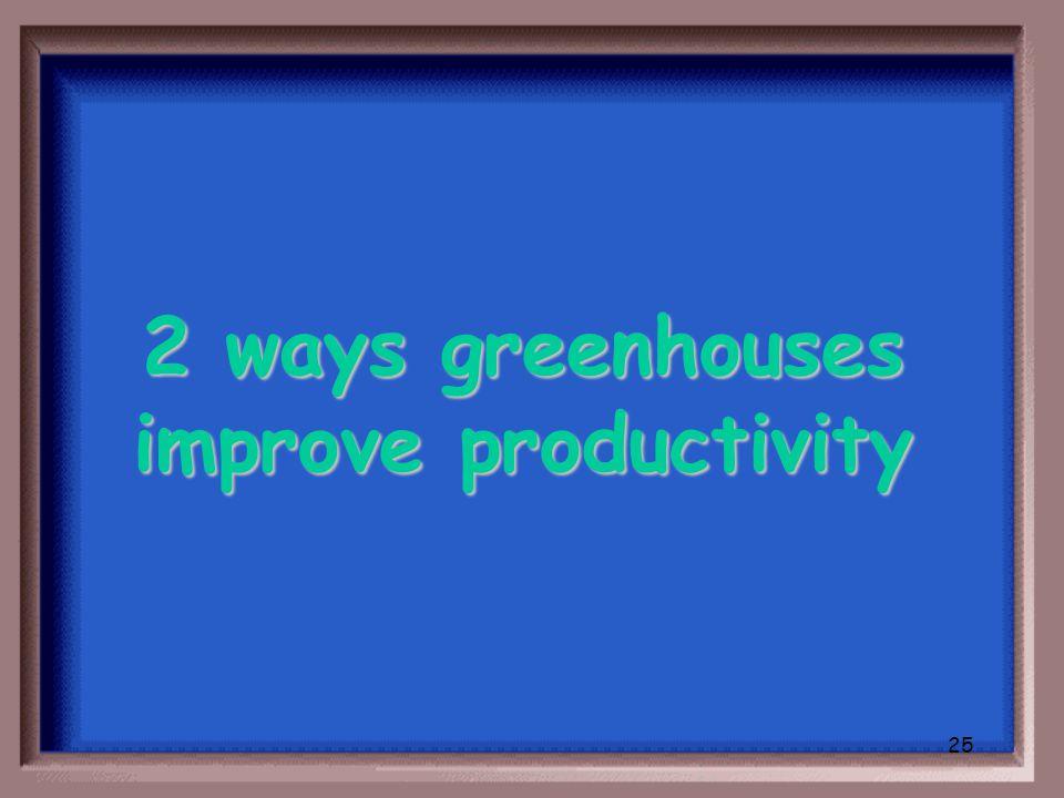 24 What is nutrients, plant species, soil type