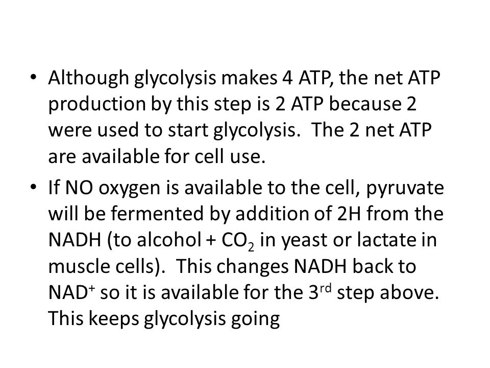 Summary Table of Glycolysis Summary of Glycolysis 1.