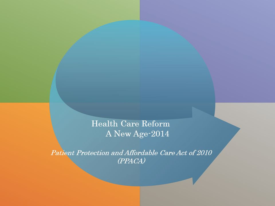 All Rights ReservedDigital Insurance Health Care Reform A New Age-2014 Patient Protection and Affordable Care Act of 2010 (PPACA)