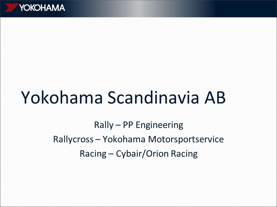Yokohama Scandinavia AB Rally – PP Engineering Rallycross – Yokohama Motorsportservice Racing – Cybair/Orion Racing