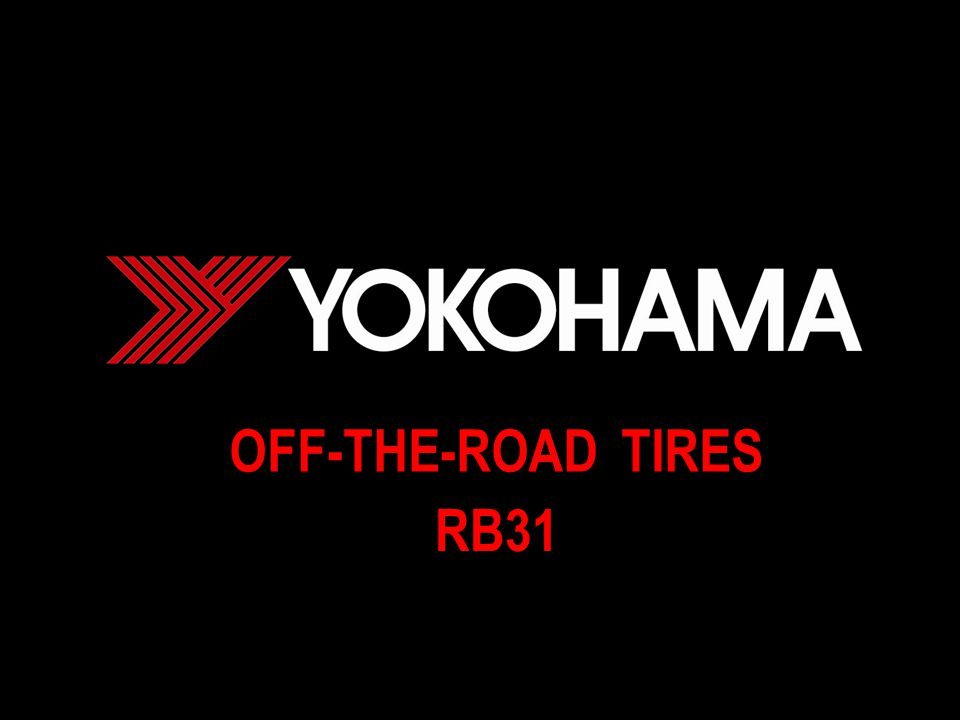 OFF-THE-ROAD TIRES RB31