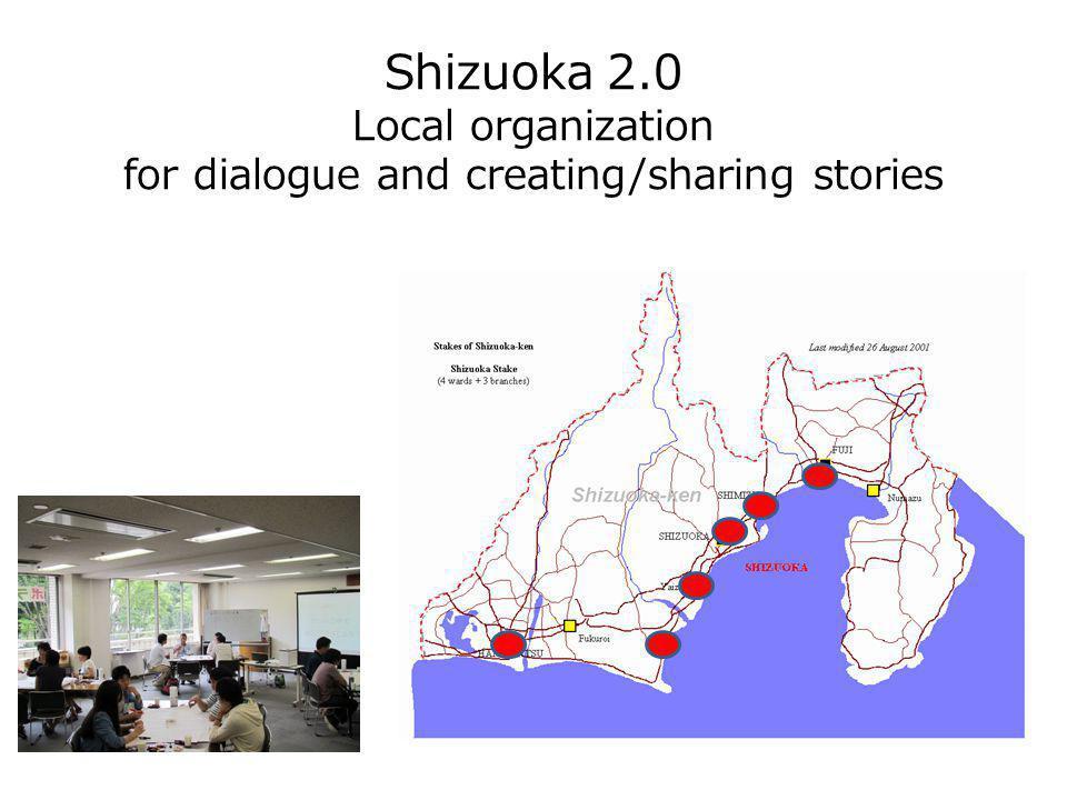 Shizuoka 2.0 Local organization for dialogue and creating/sharing stories