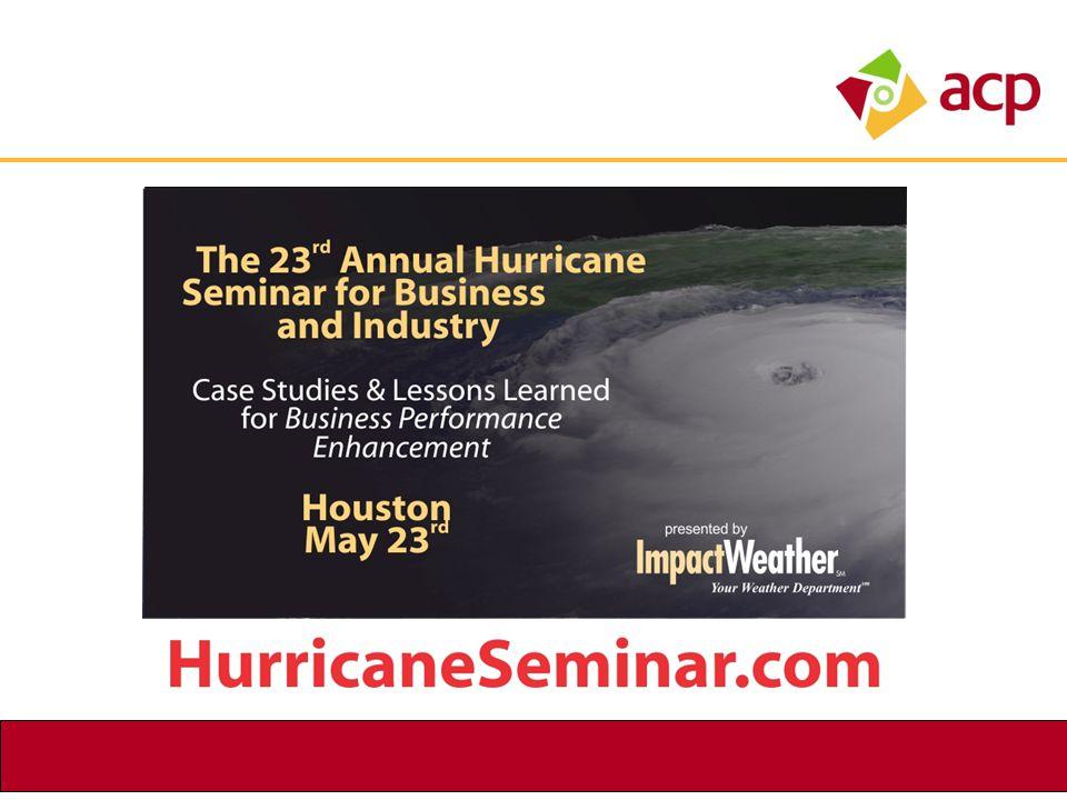 Hurricane Seminar Graphic