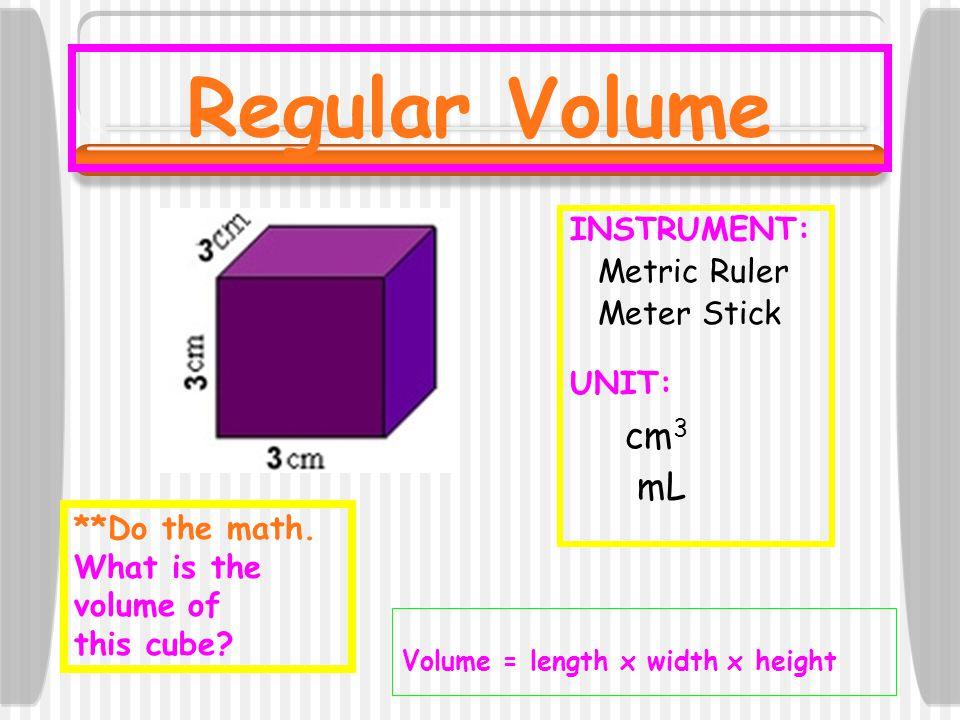 Example #2: 7.25 L = ____ kL 7.25 L =.00725 kL