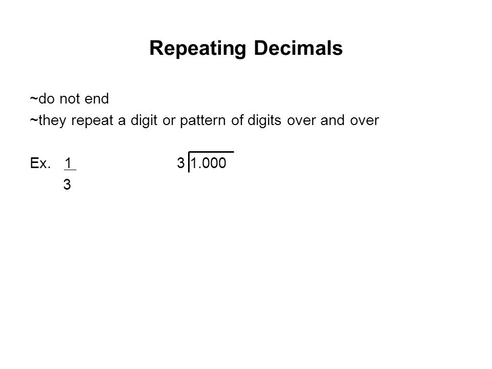 Coached Example Can 3/8 be expressed as a terminating or repeating decimal.