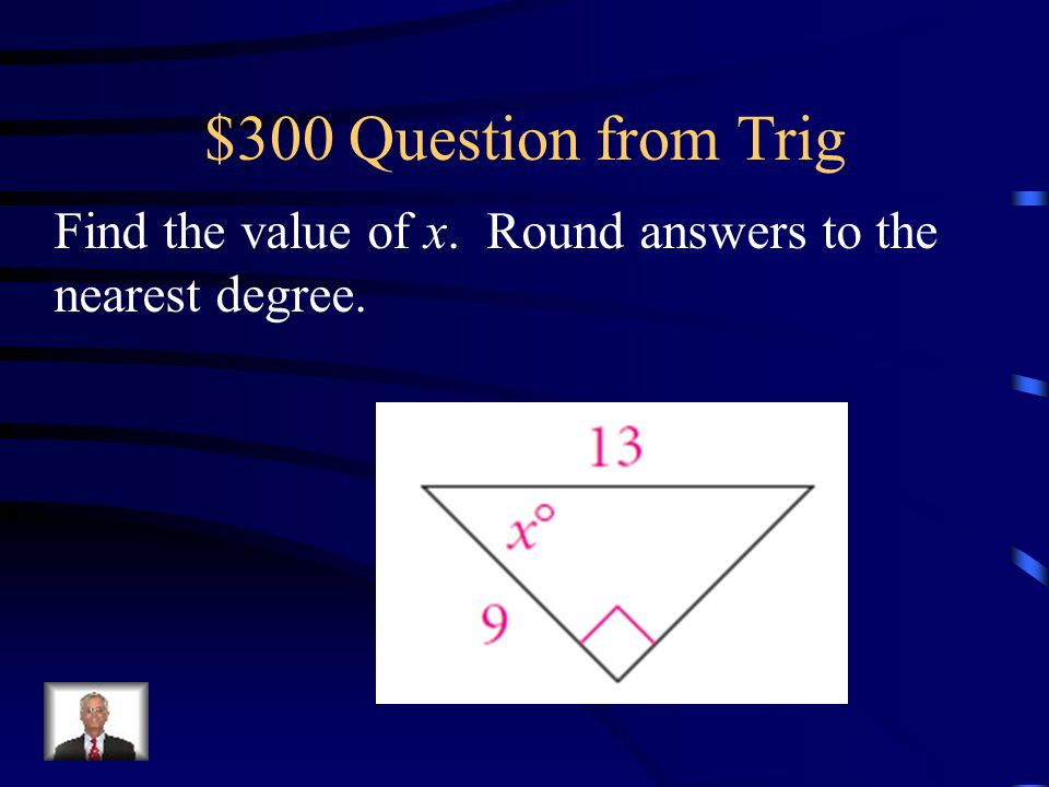 $200 Answer from Trig