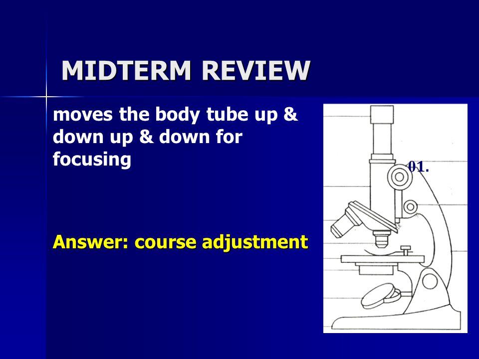 MIDTERM REVIEW 1. Organic or Inorganic? Answer: inorganic