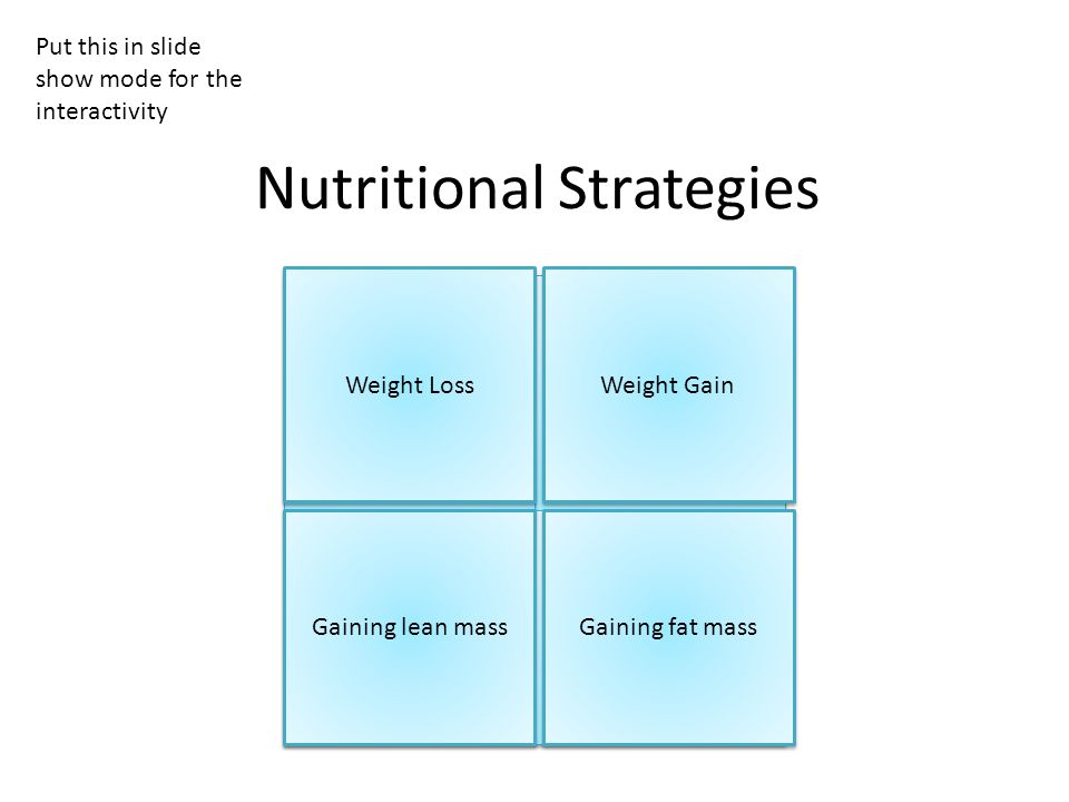 If an athlete needs to lose weight, care needs to be taken to identify where the loss in weight will come from.
