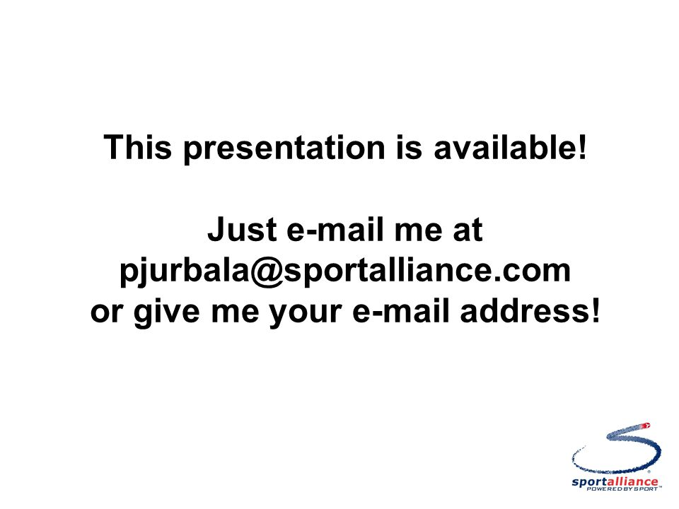 This presentation is available.